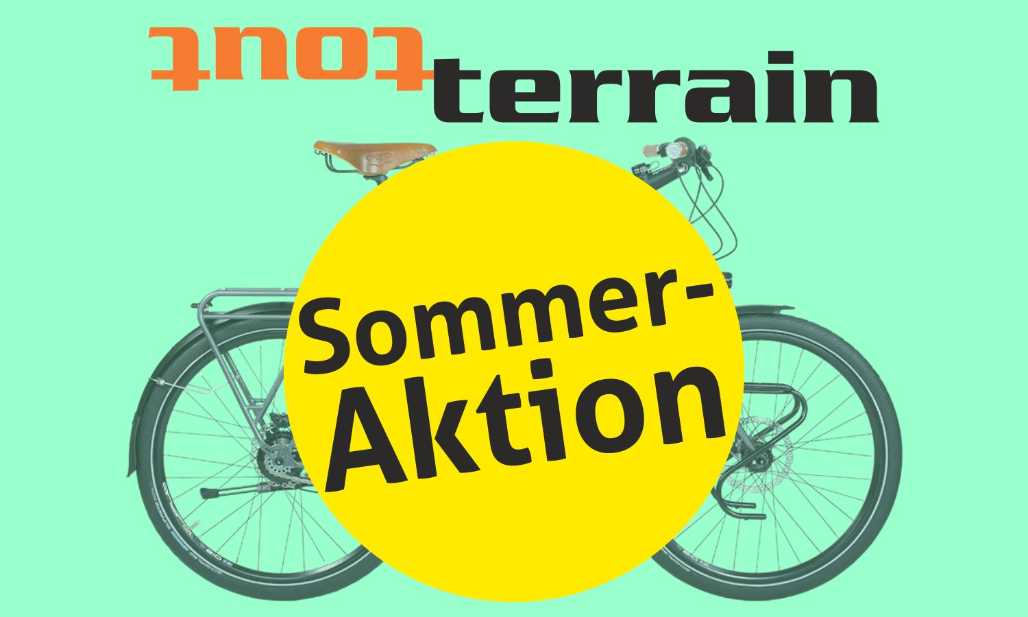 "Tout-Terrain Sommer Aktion: ""Colour your bike"""